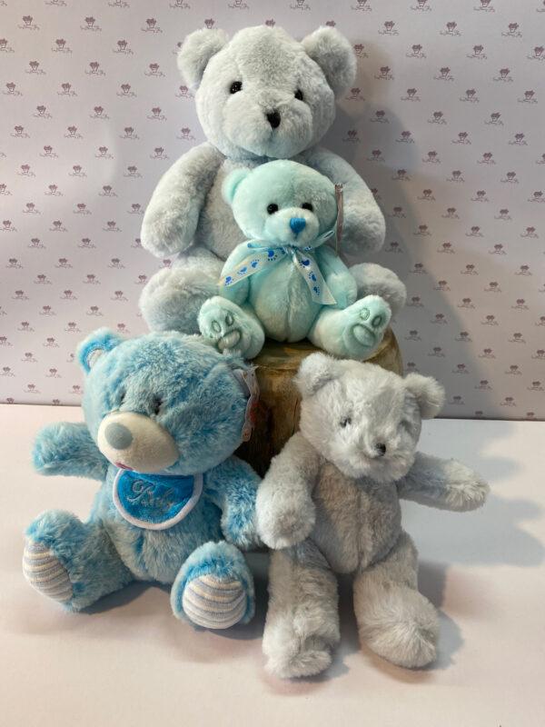 The softest, cutest shades of cuddly blues.