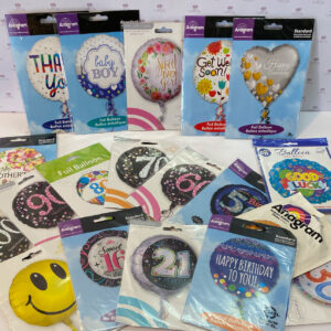 Choose from an assortment of 43cm quality balloons.