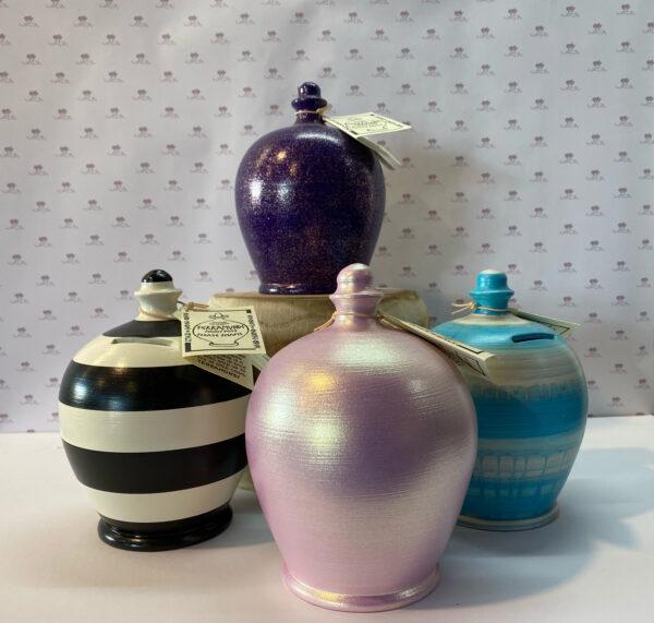 Gorgeous pottery amphoras.